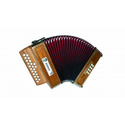 Accordéon Diatonique HOHNER MERLIN 2