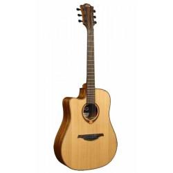 Guitare Folk Electro LAG TL118DCE Gaucher