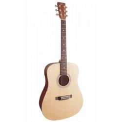 Guitare Folk Electro LAG TL100ASCE-BLK Gaucher
