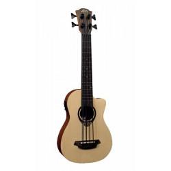 Guitare Basse de voyage Electro LAG TKB150CE