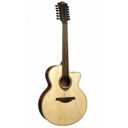 Guitare Folk Electro LAG 12 cordes T177J12CE