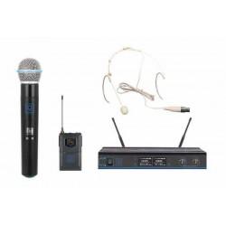 Système double micro sans fil OQAN QWM-3 Combo