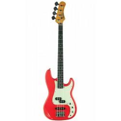 Guitare Basse EKO VPJ280V-RELIC-RED