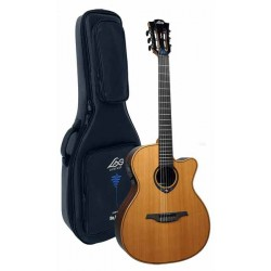 Electro Classical Guitar LAG HyVibe TNHV15ACE