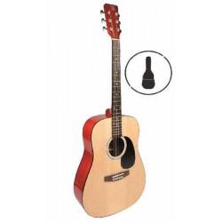 WALDEN Concorda CD550 Folk Guitar + Bag